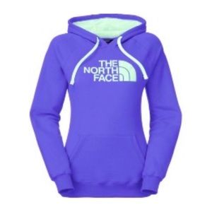 The North Face Purple and Teal Hoodie